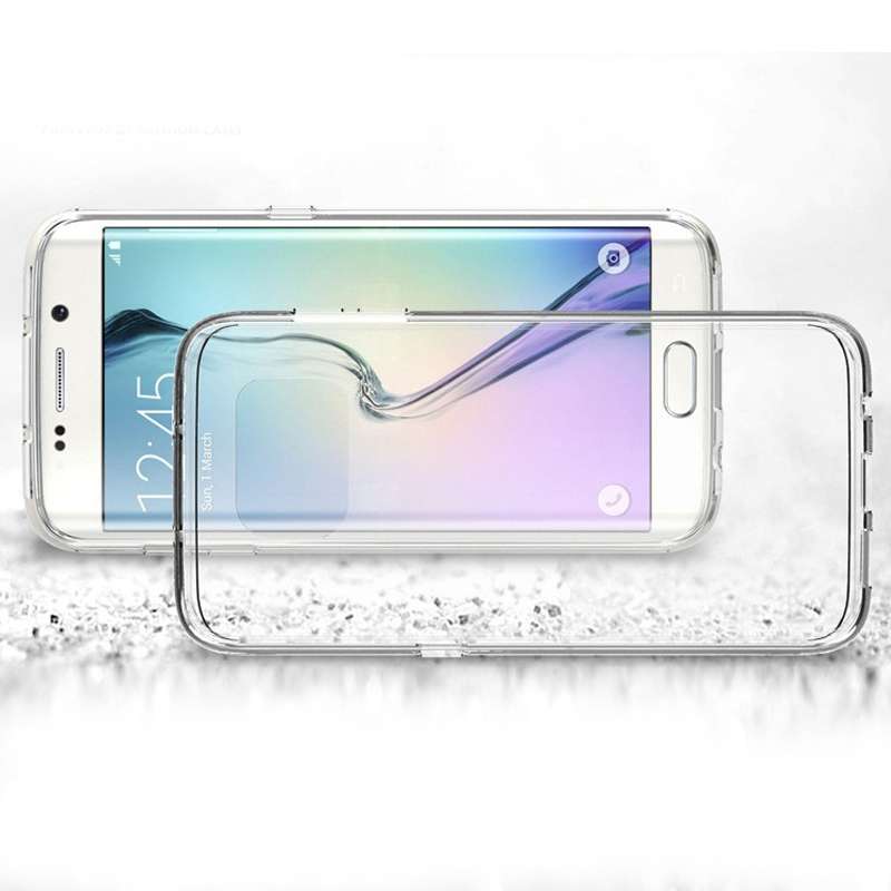 Transparent Clear Plastic Crystal Tpu Silicon Case For Samsung S5230