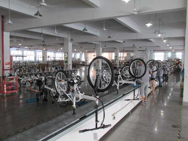 Electric Bicycle Assembling