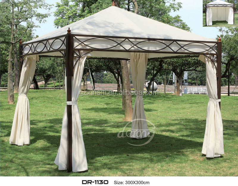 leisure garden gazebo outdoor furniture iron gazebo tent