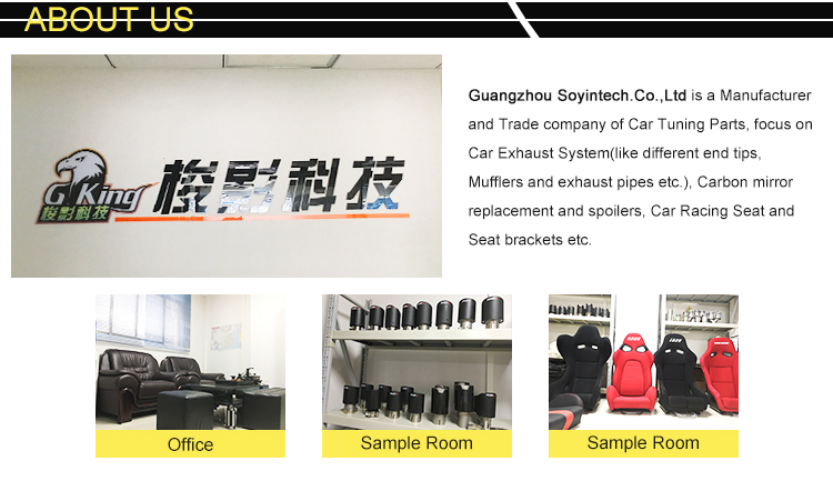 Newest High Strength Garantee Racing style Universal Carbon fiber Bucket seat