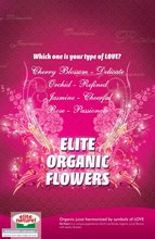 Elite Naturel 100% Organic Flower Fruit Juices. (Four recipes).