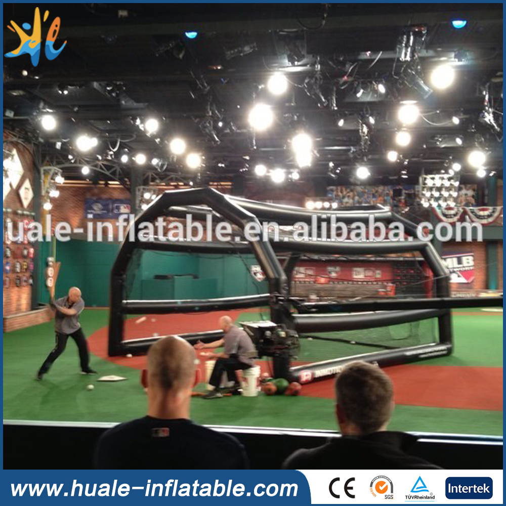 inflatable baseball batting cage inflatable sport game on sale