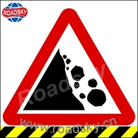 Customized Warning Reflective Traffic Signs For
