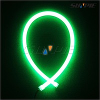 Decorating LED Tube Lights Super Flexible Strip Neon Color Changing LED Rope lights for Vehicles