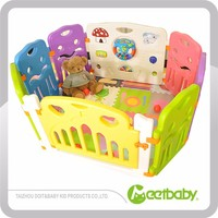 Custom Unique Hot Sale Cute Design Large Play Yards For Toddlers
