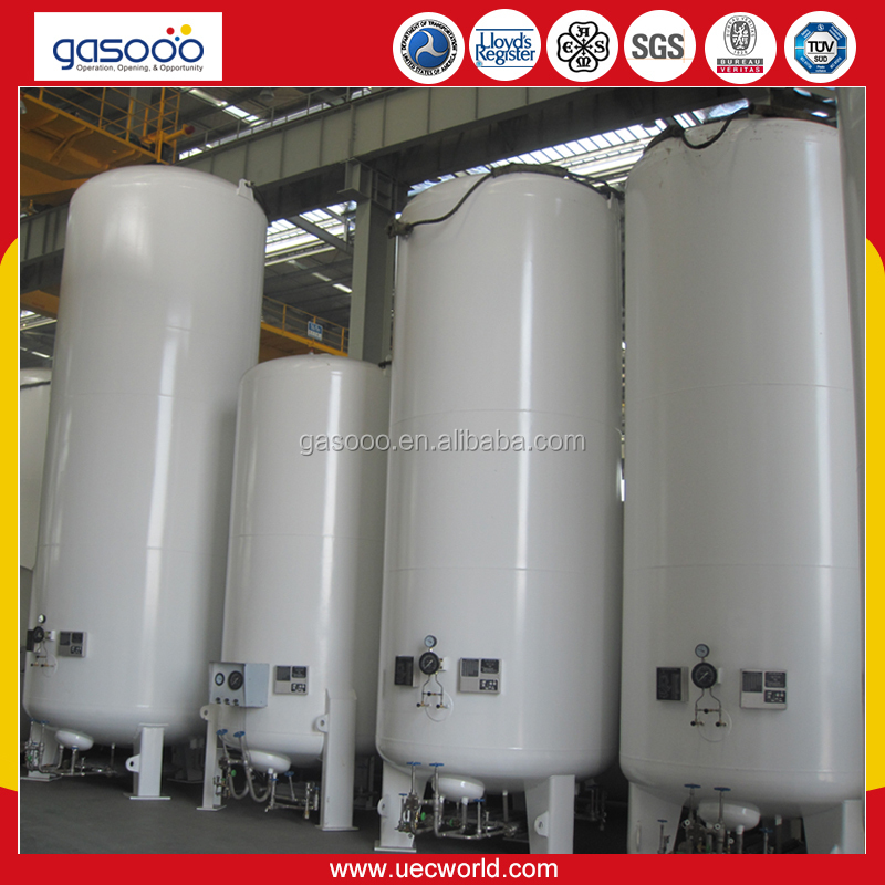 ASME 15m3 Liquid Oxygen Tank Price for Low