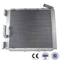 China Aluminum oil cooler for hydraulic cooling system