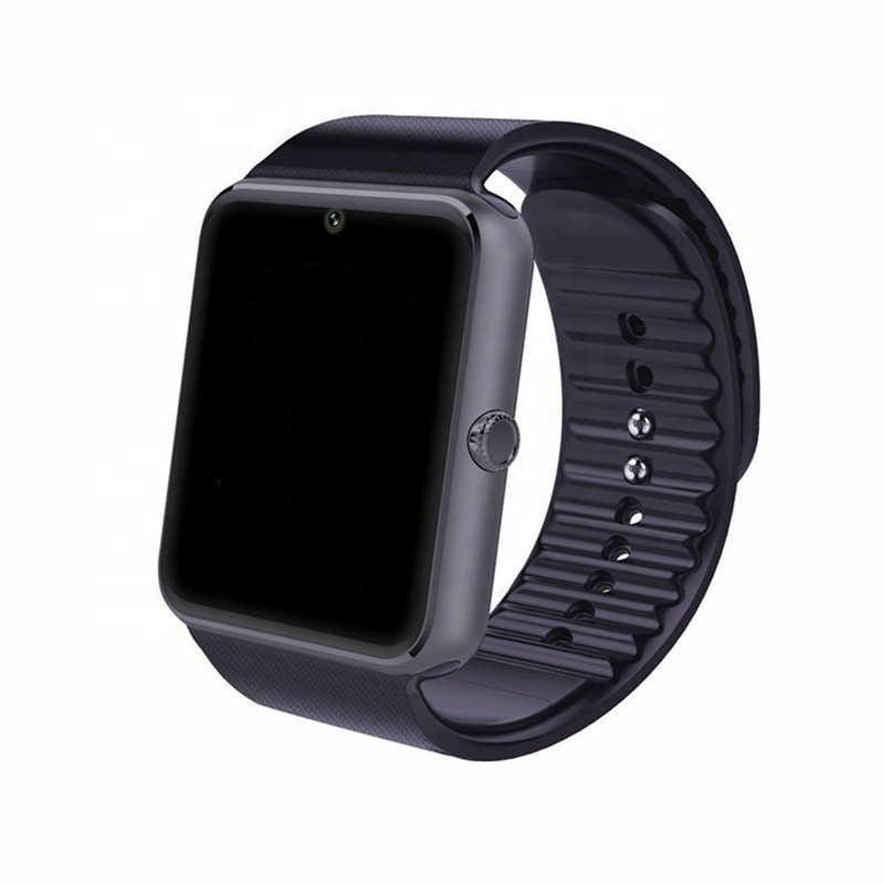 GT08 Bluetooth Smart Watch With Touch Screen Big Battery Support TF Sim Card Camera For IOS iPhone <strong>Android</strong> <strong>Phone</strong>