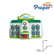 news 3D paper puzzle miniature famous Buildings model