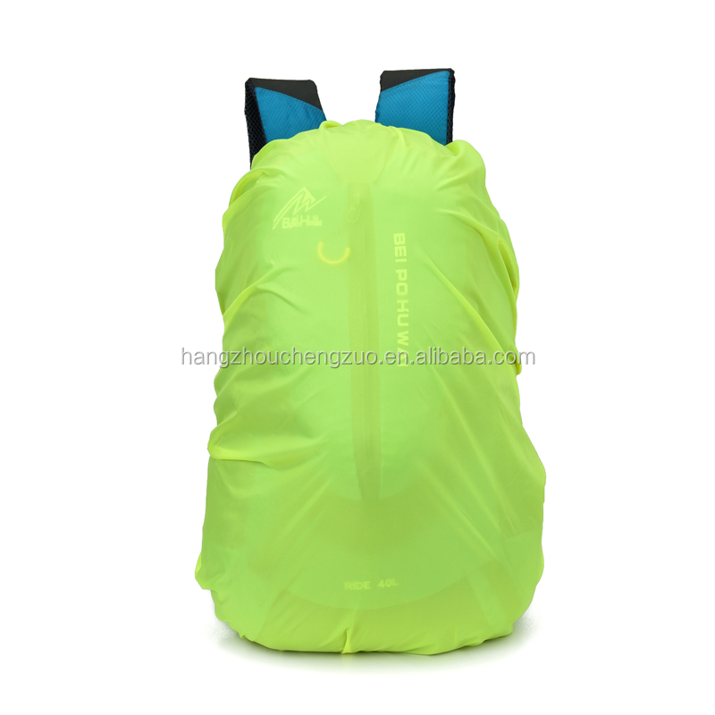 Hot Sale Waterproof Rain Cover for 40L Backpack,CZ-0014 backpack rain cover