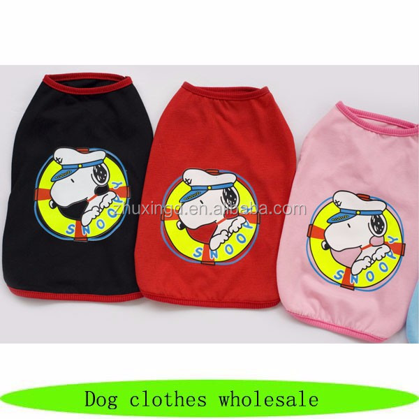 Clothes dog cotton, dog clothes wholesale, dogs clothes and accessories
