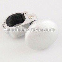 2014 New Nude Silver Car Steering Wheel Suicide Spinner Knob