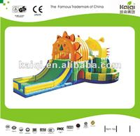 Updated KAIQI children like outdoor bouncy castle;open air inflatable toys
