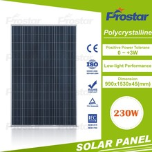 low price poly solar panel 230 watt with good quality