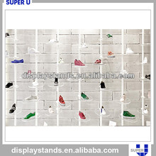 Sports shoes brand shop metal shoe disply rack designs