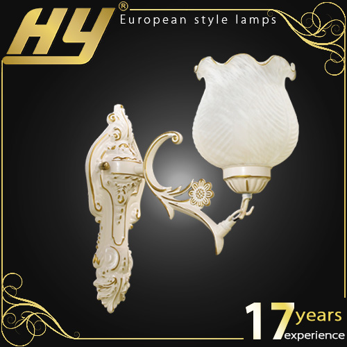 Zhongshan cream-colored single head Luxury hotel swing arm wall light