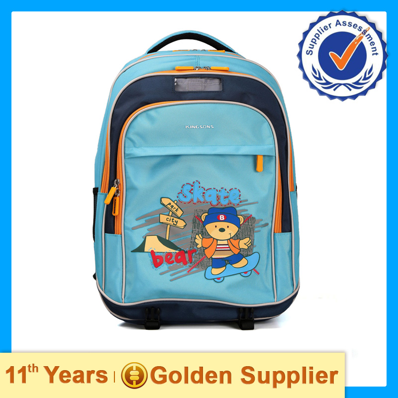 Guangzhou Wholesales Hard Shell & Polyester Backpack Children School Bag Waterproof