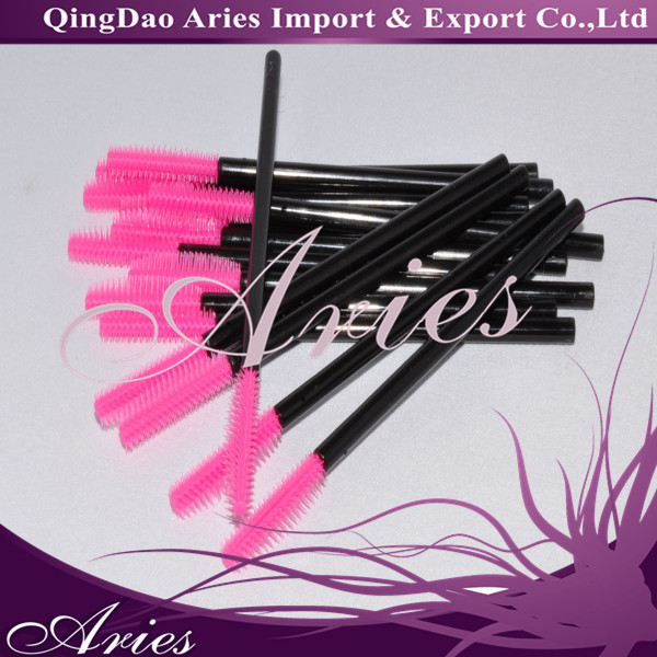 multi-color or style disposable with mascara wands eyelash brushes
