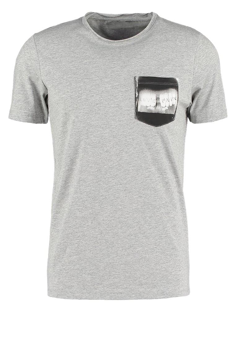 High quality cheap custom silk screen printing grey men for Cheap silk screen t shirts