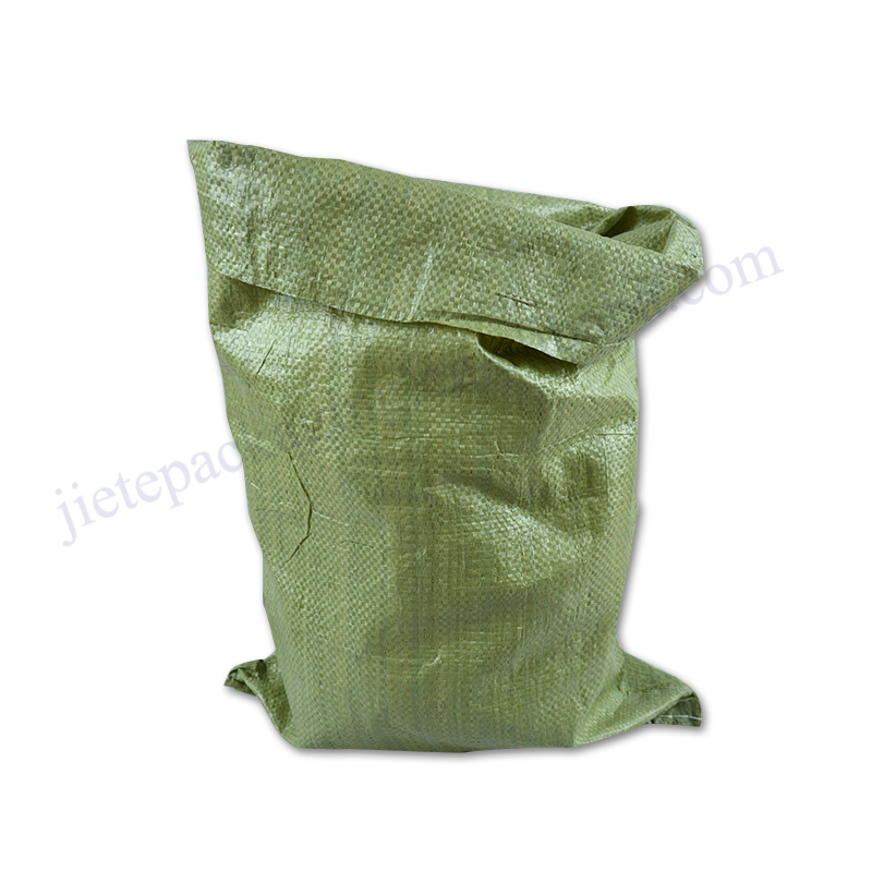 *Recycled polypropylene pp woven building garbage bag 25kg 50kg for industrial waste and courier