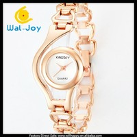 Japan movement vogue hot sale KINGSKY pretty hollow watchband ladies watch(WJ-3732)