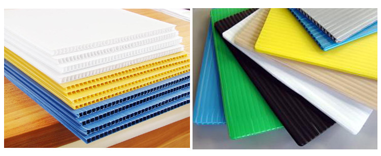 corrugated plastic sheet for surface protection