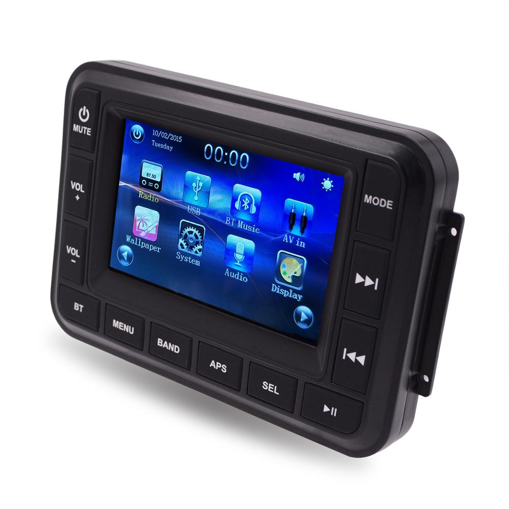 "Best Touch screen Bluetooth 5.0"" display radio with usb FM AM"
