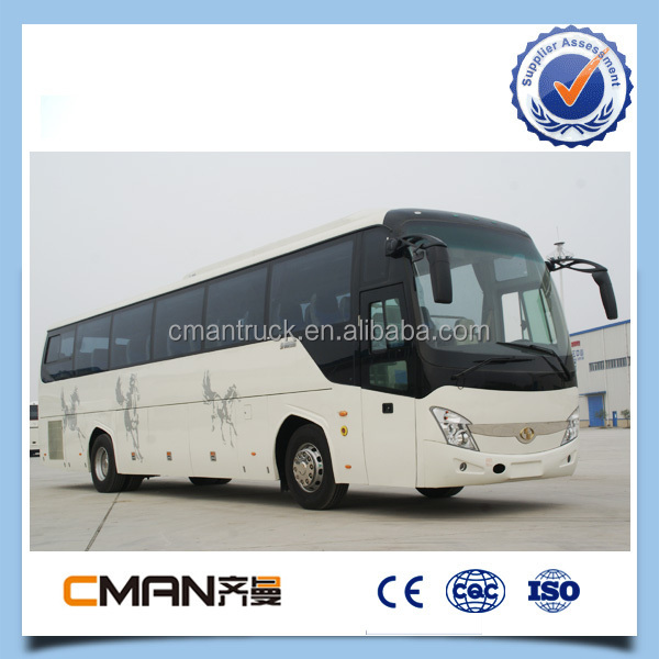 Hot selling 55-60 seats china new design Commercial Passenger Bus for sale