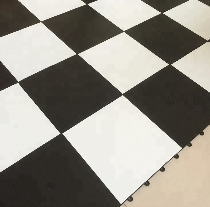 Black and White Vinyl <strong>flooring</strong> , interactive dance floor
