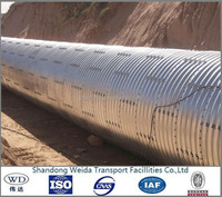 Galvanized Corrugated Steel Pipe Road Culvert on Sale