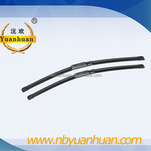 SZ-S009 soft flat windshield wiper blade with A class rubber for special car