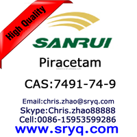 High quality Nootropics Piracetam, Cas 7491-74-9 Piracetam