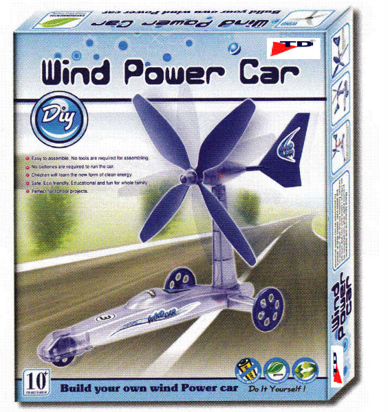 WIND POWER CAR (Age-10+, Pkg-6pcs/ctn)
