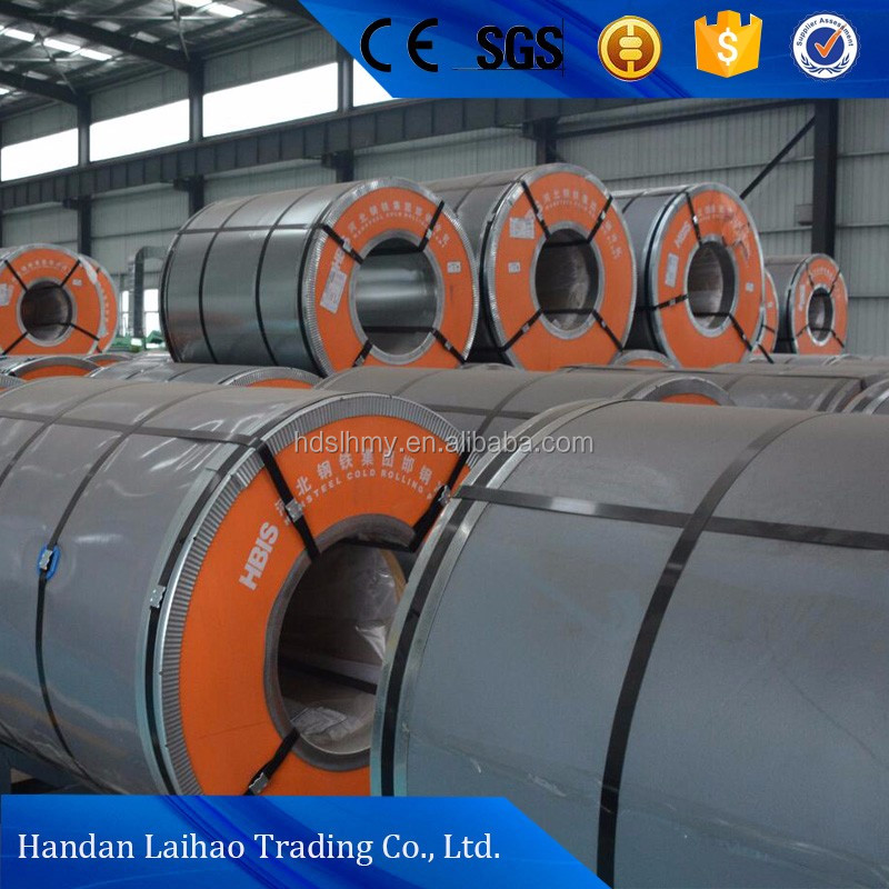 SAE1015 HV180 cold rolled full hard steel coil