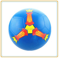 Size 2,3,4,5 football promotional products clear rubber ball football customer logo football rubber soccer balls