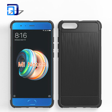 Newest mobile phone for xiaomi note 3 brushed shatter-resistant transparent mobile phone case