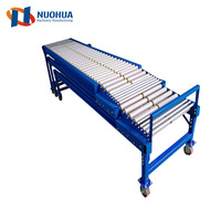 NHT1 Movable Gravity Telescopic Roller Conveyors For Unloading Cartons
