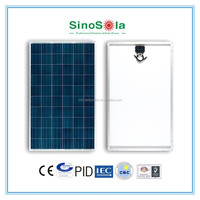 Fully automatic production line A-grade solar cell 250w poly solar panel with high efficiency