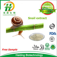 100% water souble pure animal protein 60% snail extract