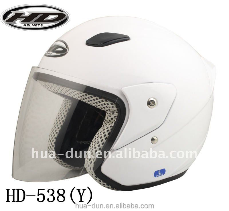 NEW motorcycle open face shockproof high engery-absorbing double VISOR helmet HD-538(Y)