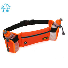 Hydration Running Belt Hynice Fitness Runners waist pack with water bottle holder Cellphone Zipper Pockets for iPhone 6 6plus S