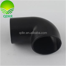 PVC tube elbow/plastic injection parts/customized plastic injection supplier