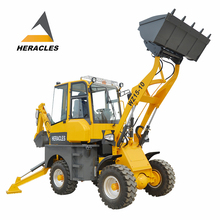 Hot sale case compact backhoe with hydraulic breaker