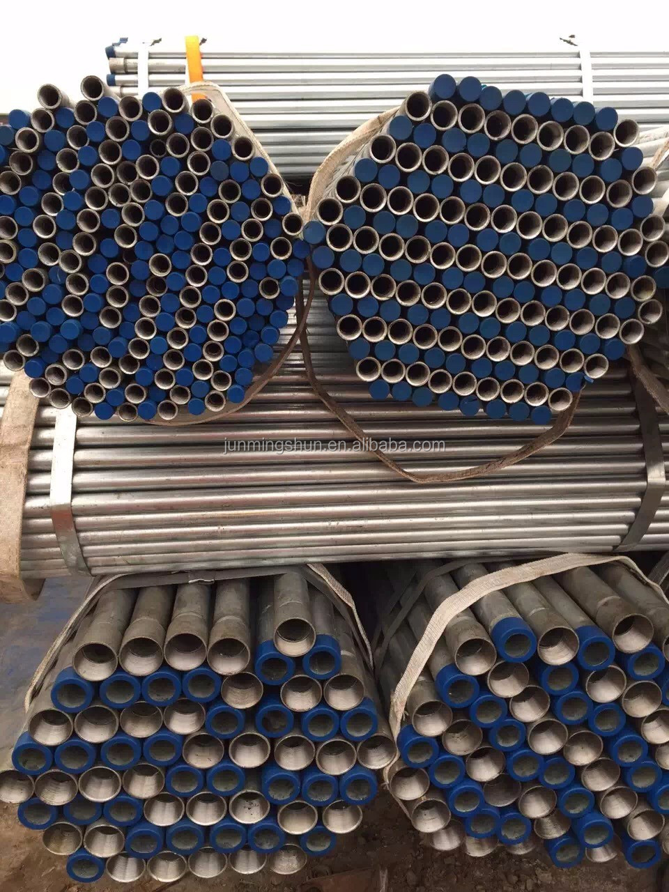 scaffold tubes ! steel galvanized pipe weight per meter hot dipped galvanized pipe with pvc cap