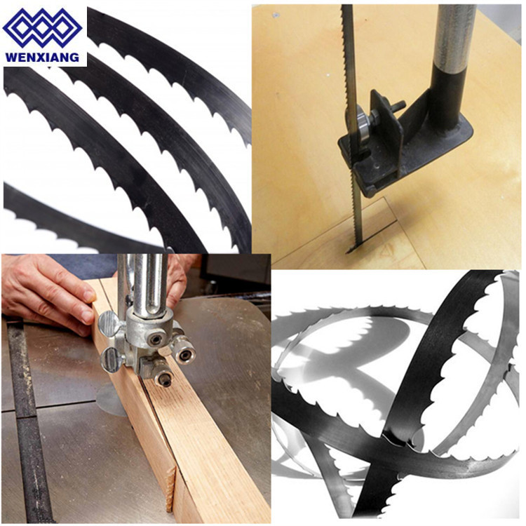 Factory low price SK5 material wood cutting band saw blade