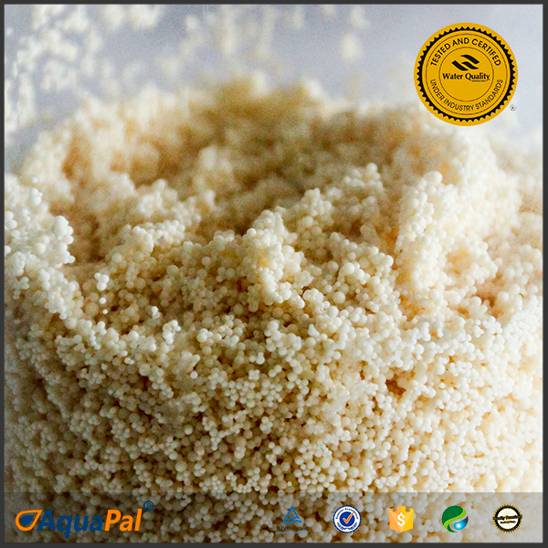 WQA certified food grade ion exchange resin water treatment polymers