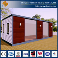 Fully Assembly Luxury prefabricated dressing container room