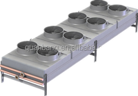 Refrigeration air cooled condenser heat exchanger