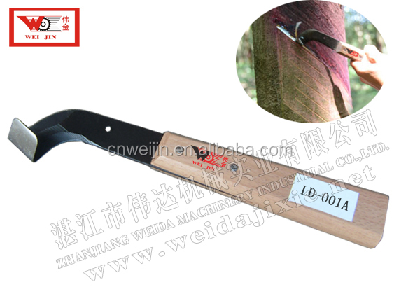 Exported Brazil Stainless Steel Rubber Tools Rubber Tapping Knife