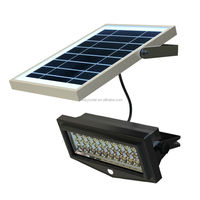 Modern Solar Stainless Steel Wall Lamp With Motion Sensor